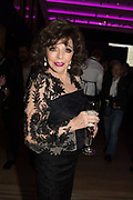 JOAN COLLINS, Bonhams host a private view for their  forthcoming auction: Jackie Collins- A Life in Chapters' Bonhams, New Bond St.  3 May 2017.