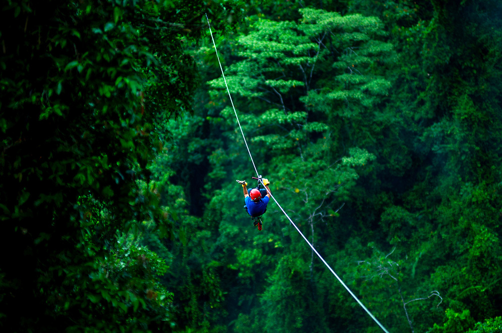 Arenal.Rainforest Canopy Zip Line