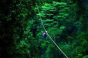 Arenal.Rainforest Canopy Zip Line