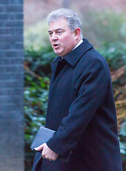 London - Minister without Portfolio and Conservative Party Chair Brandon Lewis attends the weekly meting of the UK cabinet at Downing Street. January 23 2018.