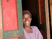 Elfnesh Finta, 35, at her home in Boreda, Ethiopia.
