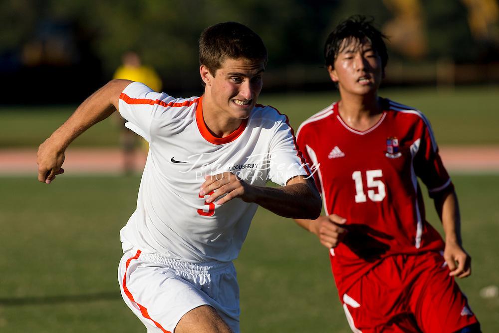 September/24/13:   Woodberry Forest School Varsity Men's Soccer vs Liberty Christian Academy.