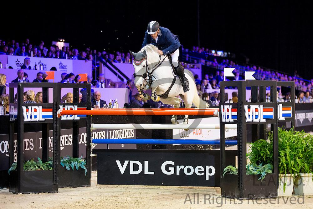 Albert Zoer - Gigolo<br /> Jumping Indoor Maastricht 2016<br /> &copy; DigiShots