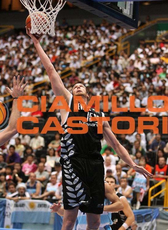 DESCRIZIONE : Saitama Giappone Japan Men World Championship 2006 Campionati Mondiali Argentina-New Zeland <br /> GIOCATORE : Rampton <br /> SQUADRA : New Zeland Nuova Zelanda <br /> EVENTO : Saitama Giappone Japan Men World Championship 2006 Campionato Mondiale Argentina-New Zeland <br /> GARA : Argentina New Zeland Argentina Nuova Zelanda <br /> DATA : 26/08/2006 <br /> CATEGORIA : Tiro <br /> SPORT : Pallacanestro <br /> AUTORE : Agenzia Ciamillo-Castoria/T.Wiedensohler <br /> Galleria : Japan World Championship 2006<br /> Fotonotizia : Saitama Giappone Japan Men World Championship 2006 Campionati Mondiali Argentina-New Zeland <br /> Predefinita :