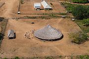 Shulinab village benab <br /> Shulinab<br /> Rupununi<br /> GUYANA<br /> South America