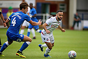 Bolton's Erhun Oztumer during the Pre-Season Friendly match between Peterborough United and Bolton Wanderers at London Road, Peterborough, England on 28 July 2018. Picture by Nigel Cole.