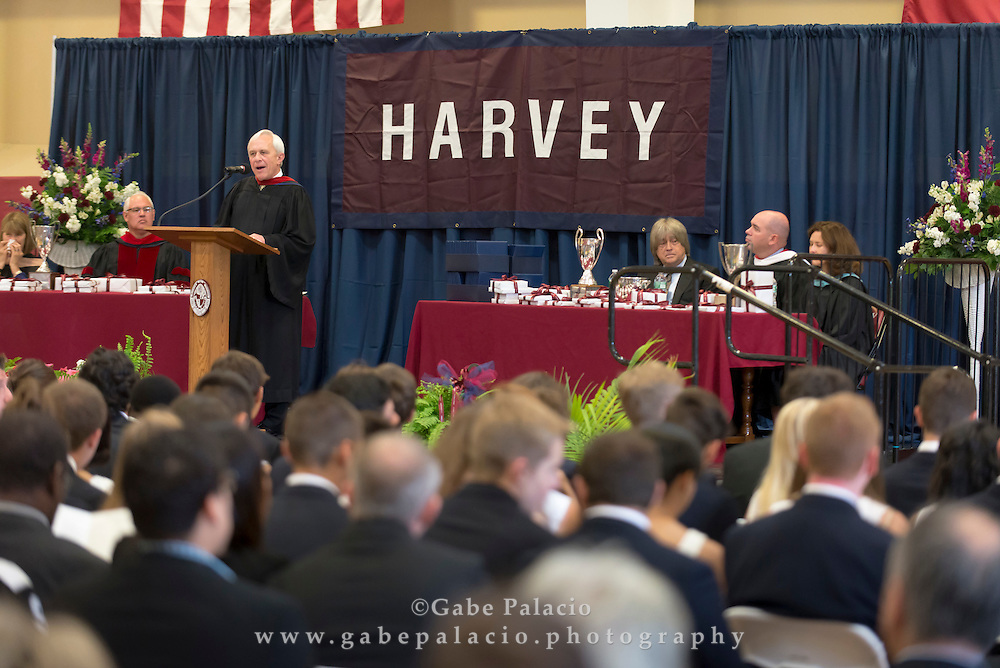 The Harvey School Commencement on June 4, 2015. (photo by Gabe Palacio)