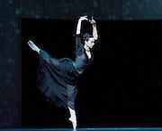 Anna Karenina<br /> chorography by Alexei Ratmansky <br /> The Mariinsky Ballet <br /> at The Royal Opera House, London, Great Britain <br /> rehearsal of Act 1<br /> 9th August 2011 <br /> <br /> <br /> Diana Vishneva (as Anna Karenina)<br /> <br /> <br /> Photograph by Elliott Franks