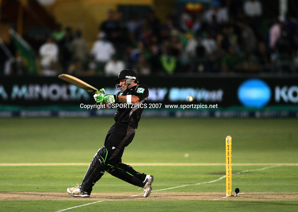 Brendon McCullam during the 2nd ODI, South Africa v New Zealand, 30 November 2007 held at St Georges Park, Port Elizabeth, South Africa. <br /> Photo: Ron Gaunt/SPORTZPICS/PHOTOSPORT