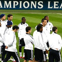 20100223: ITA, UEFA CHL, Training FC Chelsea