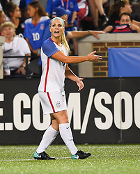 September 19, 2017 - Cincinnati, OH, USA - Cincinnati, OH - Tuesday September 19, 2017: Julie Ertz during an International friendly match between the women's National teams of the United States (USA) and New Zealand (NZL) at Nippert Stadium. (Credit Image: © Brad Smith/ISIPhotos via ZUMA Wire)