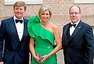 prins Albert II van Monaco in NEDERLAND