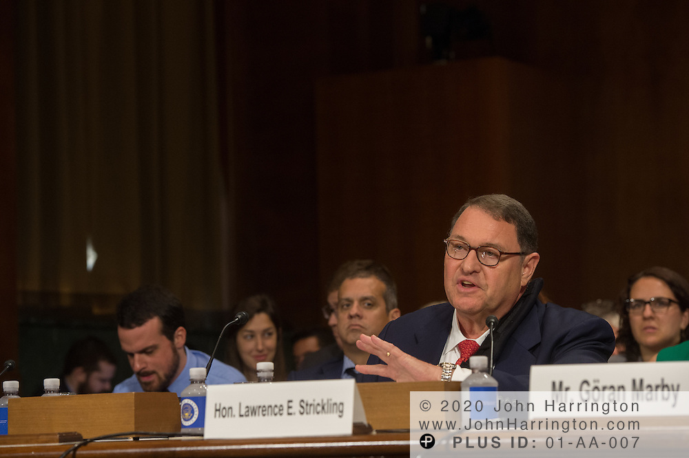 "The Honorable Lawrence E. Strickling, Assistant Secretary for Communications and Information and Administrator<br /> National Telecommunications and Information Administration (NTIA), United States Department of Commerce Wednesday September 14, 2016, before the Subcommittee on Oversight, Agency Action, Federal Rights and Federal Courts, testimony was also heard from The Honorable Lawrence E. Strickling, Assistant Secretary for Communications and Information and Administrator<br /> National Telecommunications and Information Administration (NTIA), United States Department of Commerce;  Mr. Göran Marby, CEO and President, Internet Corporation for Assigned Names and Numbers (ICANN); Mr. Berin Szoka, President, TechFreedom; Mr. Jonathan Zuck, President, ACT The App Association;  Ms. Dawn Grove, Corporate Counsel<br /> Karsten Manufacturing; Ms. J. Beckwith (""Becky"") Burr, Deputy General Counsel and Chief Privacy Officer, Neustar;  Mr. John Horton, President and CEO, LegitScript;  Mr. Steve DelBianco, Executive Director, NetChoice; Mr. Paul Rosenzweig, Former Deputy Assistant Secretary for Policy, U.S. Department of Homeland Security."