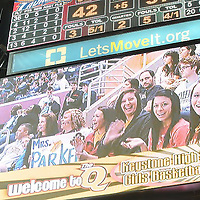2.19.2012 Keystone Girls Basketball Team at The Q