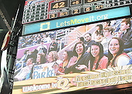 The Keystone girls varsity basketball team enjoys a game at Quicken Loans Arena on February 19, 2012.
