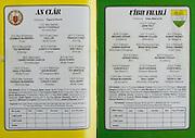 All Ireland Senior Hurling Championship Final,.03.09.1989, 09.03.1989, 3rd September 1989, .Antrim v Tipperary, .03091989AISHCF,.Tipperary 4-24, Antrim 3-9,..Clare Minor, 1 David Fitzgerald, Sixmilebridge, 2 Diarmuid McInerney, Tulla, 3 Paul Lee, Wolfe Tones, 4 Francis Corey, Eire Og, 5 Pat Markham, Clooney, 6 Joseph O'Gorman, Cratloe,7 Ger Cahill, Eire Og, 8 Christopher Chaplin , sixmilebridge, 9 Sean Power, Wolfetones, 10 Paul O'Rourke, Wolfe Tones, 11 Ger Moroney, O'Callaghans Mills, 12 Pat Minogue, Scariff, 13 Padraig McNamara, sixmilebridge, 14 Conor Clancy, Kilmaley, 15 Paul Keary, Wolfe Tones, .subs, Sean Tracey, Wolfe Tones, James O'Connor, Dora Barefield, Ciaran O'Neill, Wolfe Tones, Kevin McNamara, O'Callaghan's Mills, Pat O'Neill, Clarecastle, Keith Galvin, Cratloe, Declan Sherlock, Mellick, MIchael O'Loughlin, Kilnamona, Aidan O'Rourke, Scariff, ..Offaly Minor, 1 John Troy, Lusmagh, 2 Michael Hogan, Coolderry, 3 Finbarr Cullen, Edenderry, 4 Hubert Rigney, St Rynagh's, 5 Damien Barron, Kilcormack Killoughey, 6 Brian Whelehan, Birr, 7 Donal Franks, Cobh, Cork, 8 Adrian Cahill, Birr, 9 Raymond Dooley, Coolderry, 10 John Dooley, Seir Kieran's, 11 Sean Grennan, Ferbane, Belmont, 12 Oisin O'Neill, Shinrone, 13 Ronan McNamara, St Rynagh's. 14 NIall Hand, Kilcormac Killoughey, 15 Kevin Flynn, Ferbane Belmont, subs, Damien Franks, Shinrone, Raymond Deegan, Coolderry, Karl Mannion, St Rynaghs, Niel Tierney, Birr, Henry Kilmartin, Kilcormack Killoughey, 21 Andrew Hoctor, Tullamore, 22 Cathal Maher, Ferbane, Belmont, 23 Shane Buggy, Ballinamere Burrow, 24 Dermot Moylan, St Rynagh's,