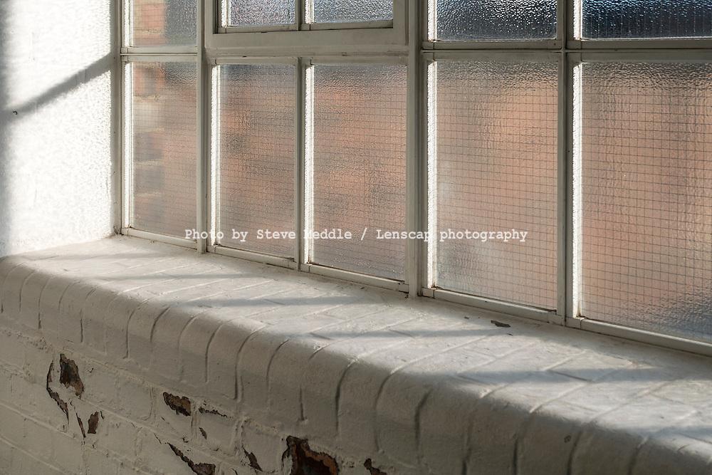 White Painted Brick Window Sill - Feb 2015.