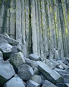 Basalt columns, Devil's Postpile National Monument, California  1986
