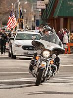 Annual Holiday parade through Laconia New Hampshire November 24, 2012