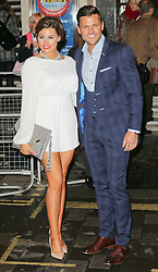 © Licensed to London News Pictures. 26/03/2014, UK. Jessica Wright; Mark Wright, I Can't Sing! The X Factor Musical - press night, London Palladium, London UK, 26 March 2014. Photo credit : Richard Goldschmidt/Piqtured/LNP