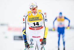 January 6, 2018 - Val Di Fiemme, ITALY - 180106 Daniel Rickardsson of Sweden looks dejected after men's 15km mass start classic technique during Tour de Ski on January 6, 2018 in Val di Fiemme..Photo: Jon Olav Nesvold / BILDBYRN / kod JE / 160123 (Credit Image: © Jon Olav Nesvold/Bildbyran via ZUMA Wire)