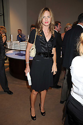 TRINNY WOODALL at a party to celebrate the publication of Sashenka by Simon Sebag-Montefiore held at Asprey, Bond Street, London on 1st July 2008.<br /><br />NON EXCLUSIVE - WORLD RIGHTS