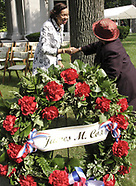 2007 - Wreath-Laying Ceremony at the Grave of Gov. James. M. Cox at Woodland Cemetery & Arboretum