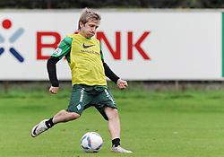 19.08.2011, Trainingsgelaende, Bremen, GER, 1.FBL, Training Werder Bremen, im Bild Marko Marin (Bremen #10)..// during training session from Werder Bremen on 2011/08/19, Trainingsgelaende, Bremen, Germany..EXPA Pictures © 2011, PhotoCredit: EXPA/ nph/  Frisch       ****** out of GER / CRO  / BEL ******