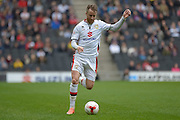 MK Dons striker Dean Bowditch during the Sky Bet Championship match between Milton Keynes Dons and Rotherham United at stadium:mk, Milton Keynes, England on 9 April 2016. Photo by Dennis Goodwin.