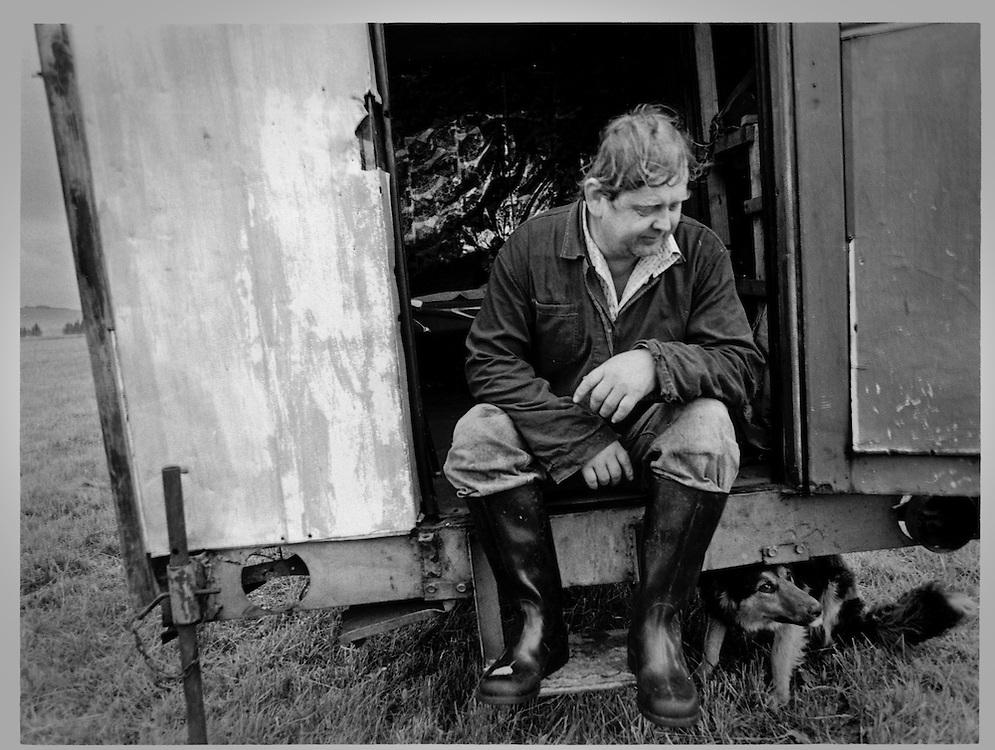 Landsbygda, Moravia, Tsjekkia. 1998.Foto: Espen Solli