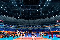 03-10-2018 JPN: World Championship Volleyball Women day 6, Yokohama<br /> Netherlands - Mexico 3-0 / Spiking Anne Buijs #11 of Netherlands