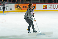 REGINA, SK - MAY 23: Ice crew at the Brandt Centre on May 23, 2018 in Regina, Canada. (Photo by Marissa Baecker/CHL Images)
