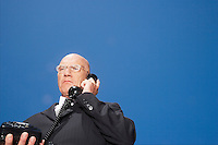 Businessman Talking on the Telephone