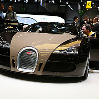 Bugatti Veyron FBG Par Hermes, Geneva Motor Show 2008