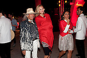 JAMES GOLDSTEIN; VIKA GOLUDOVA; , Hosted by Interview Russia.  On behalf of Ferrari, Peter M. Brant and SothebyÕs Tobias Meyer party in honor of FerrariÕs Chairman, Luca di Montezemolo, 1111 Lincoln Road, the iconic car-park in the shopping mall designed by the Pritzker prize winning team Herzog & de Meuron.,  Miami Beach. 29 November 2011.<br /> JAMES GOLDSTEIN; VIKA GOLUDOVA; , Hosted by Interview Russia.  On behalf of Ferrari, Peter M. Brant and Sotheby's Tobias Meyer party in honor of Ferrari's Chairman, Luca di Montezemolo, 1111 Lincoln Road, the iconic car-park in the shopping mall designed by the Pritzker prize winning team Herzog & de Meuron.,  Miami Beach. 29 November 2011.