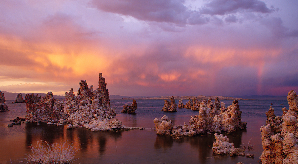 Mono Lake. The Sierras, California