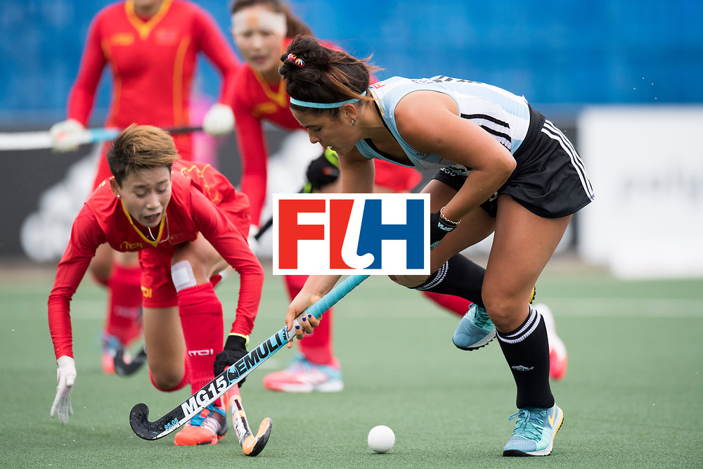 AUCKLAND - Sentinel Hockey World League final women<br /> Match id 10294<br /> 04 Argentina v China.<br /> Foto: Maria Granatto.<br /> WORLDSPORTPICS COPYRIGHT FRANK UIJLENBROEK
