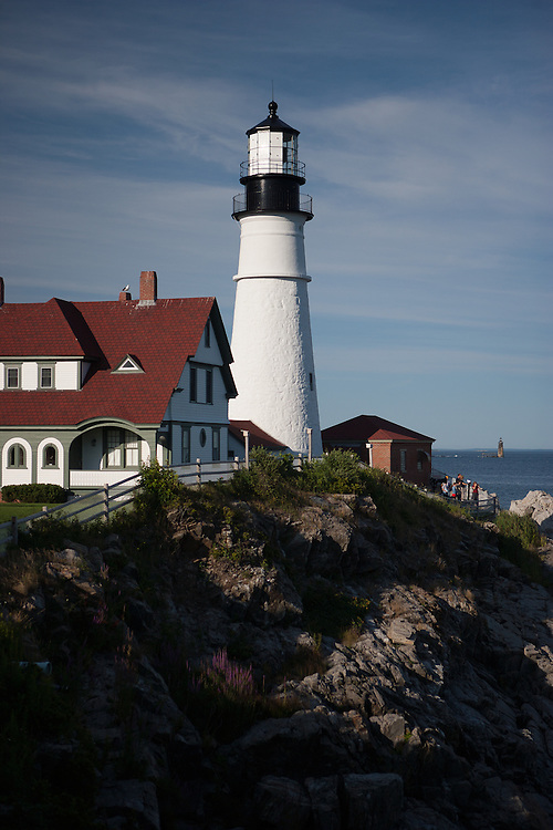 Head Light Lighthouse. Portland, Maine