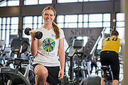 Portrait of Katie Spotz for the YMCA Annual Report at Lakewood YMCA.