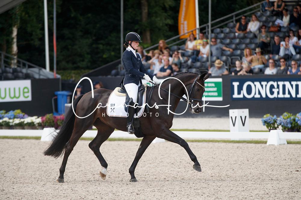 Husenbeth Nadine, GER, Faviola 3<br /> Longines FEI/WBFSH World Breeding Dressage Championships for Young Horses - Ermelo 2017<br /> &copy; Hippo Foto - Dirk Caremans<br /> 06/08/2017