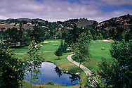 Golf Course at Carmel Valley Ranch Resort, Carmel Valley,Monterey County, California