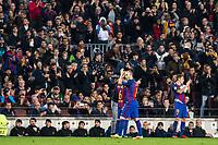 FC Barcelona's Andres Iniesta  during Champions League match between Futbol Club Barcelona and VfL Borussia Mönchengladbach  at Camp Nou Stadium in Barcelona , Spain. December 06, 2016. (ALTERPHOTOS/Rodrigo Jimenez)