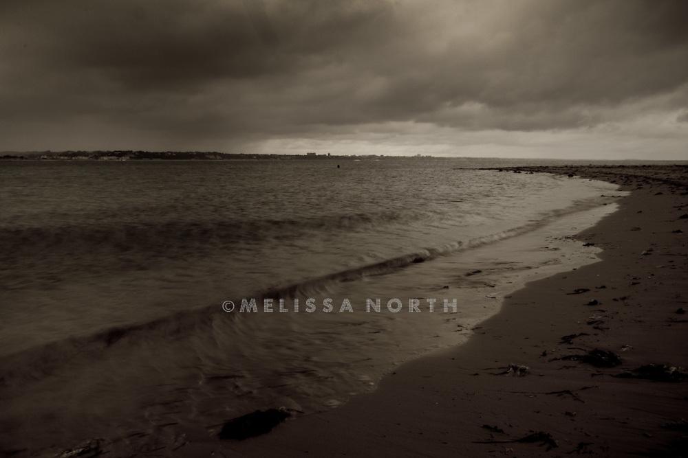 Coastline at Shell Bay, Bournemouth