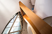 Walt Disney Concert Hall Interior by Architect Frank Gehry, Los Angeles, California