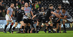 Ospreys' Tom Habberfield<br /> <br /> Photographer Mike Jones/Replay Images<br /> <br /> Guinness PRO14 Round Round 15 - Ospreys v Southern Kings - Friday 16th February 2018 - Liberty Stadium - Swansea<br /> <br /> World Copyright © Replay Images . All rights reserved. info@replayimages.co.uk - http://replayimages.co.uk