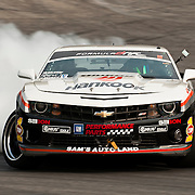 June 18, 2011;  Wall Township, Nj,USA; Conrad Grunewald goes on to win round 4 of the 2011 Formula Drift series. Mandatory Credit: Kostas Lymperopoulos