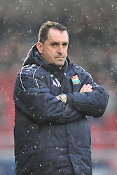 Martin Allen Manager Barnet,  Northampton Town v Barnet FC, Sixfields Stadium, Sky Bet League Two, Saturday 2nd January 2016, Score 3-0 (Hoskins,Holmes, Richards)