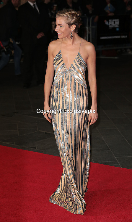Oct 16, 2014 - 58th BFI London Film Festival - 'Foxcatcher' Gala Screening<br /> <br /> Photo Shows: Sienna Miller<br /> ©Exclusivepix