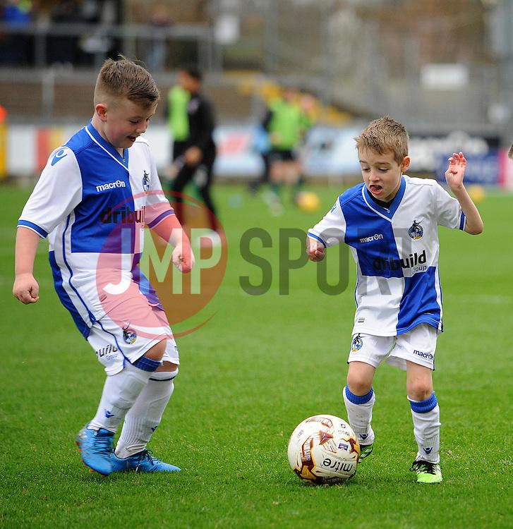Mascots - Mandatory by-line: Neil Brookman/JMP - 25/02/2017 - FOOTBALL - Memorial Stadium - Bristol, England - Bristol Rovers v Scunthorpe United - Sky Bet League One