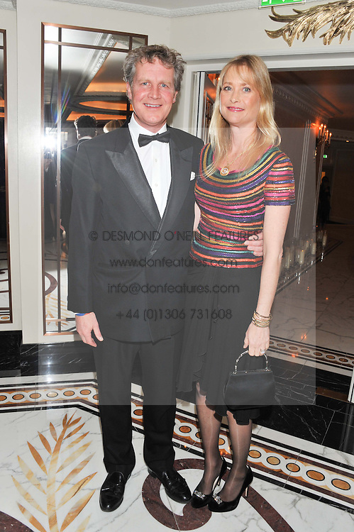 BEN & LUCY SANGSTER at the 22nd Cartier Racing Awards held at The Dorchester, Park Lane, London on 13th November 2012.